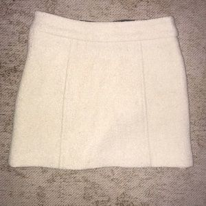 Milly Skirts - Milly Cream Wool Skirt